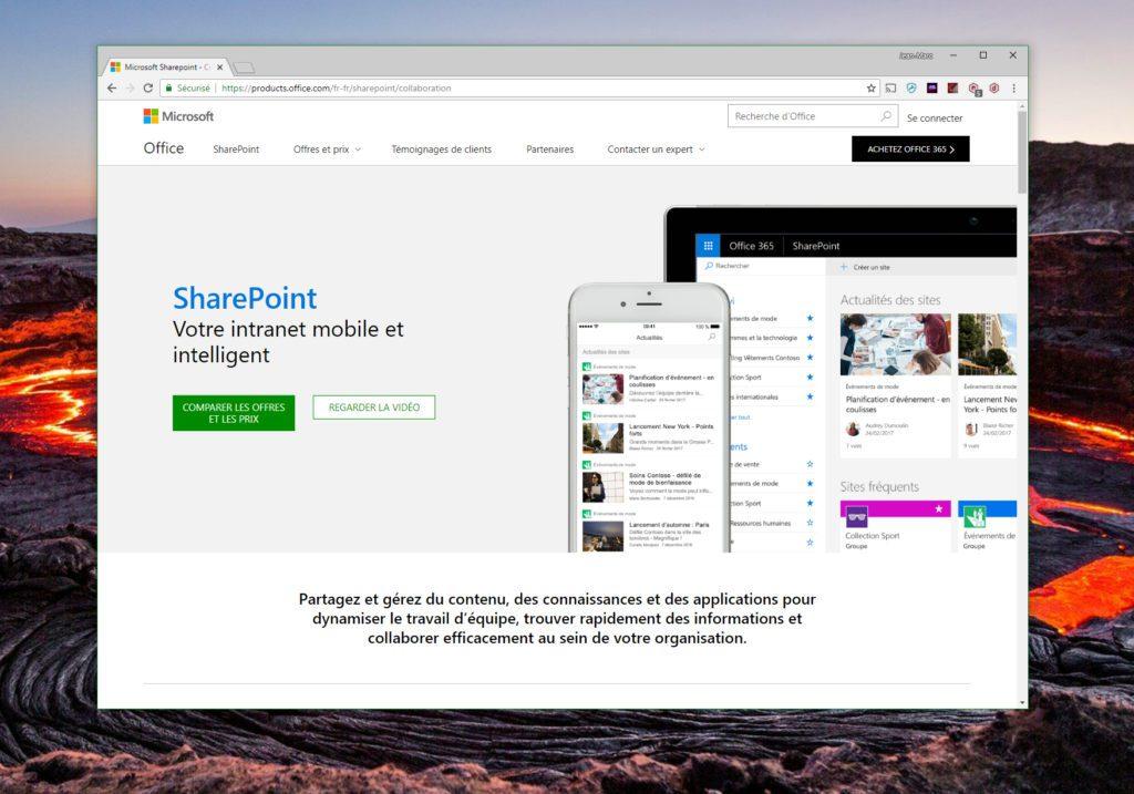 Avec SharePoint, vous déployez un puissant système centralisé et collaboratif de gestion des documents