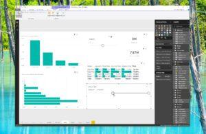 En insérant un champ de date sur un segment, vous profitez d'une réglette pratique pour filtrer dynamiquement les données