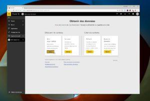 En mode SaaS, Power BI vous donne accès aux applications de votre entreprise et vous permet de créer du contenu